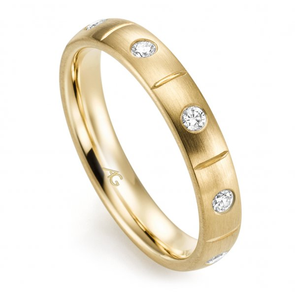 Memoire Ring Gelbgold 585 Brillant GE 29760/3.7